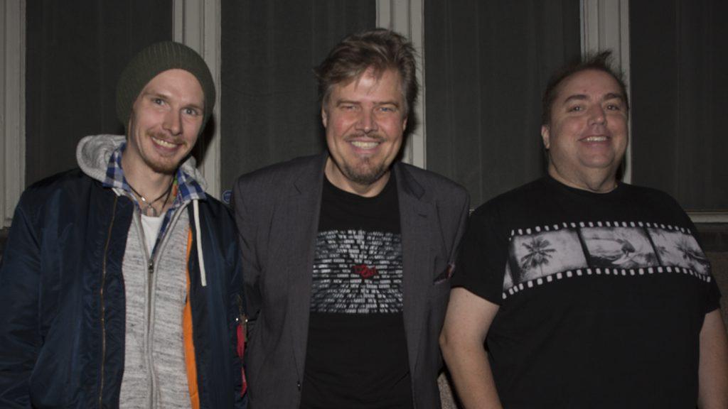 Tobias Jacobsson, Sven Brundin och John Houdi, 2016 Foto Camilla Käller